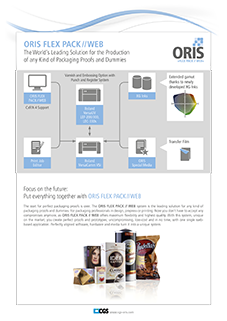 ORIS Flex Pack // Web System - CGS Publishing Technologies International